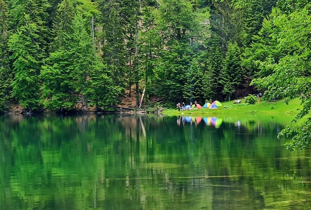 Zabojsko jezero, Sinjajevina North Montenegro