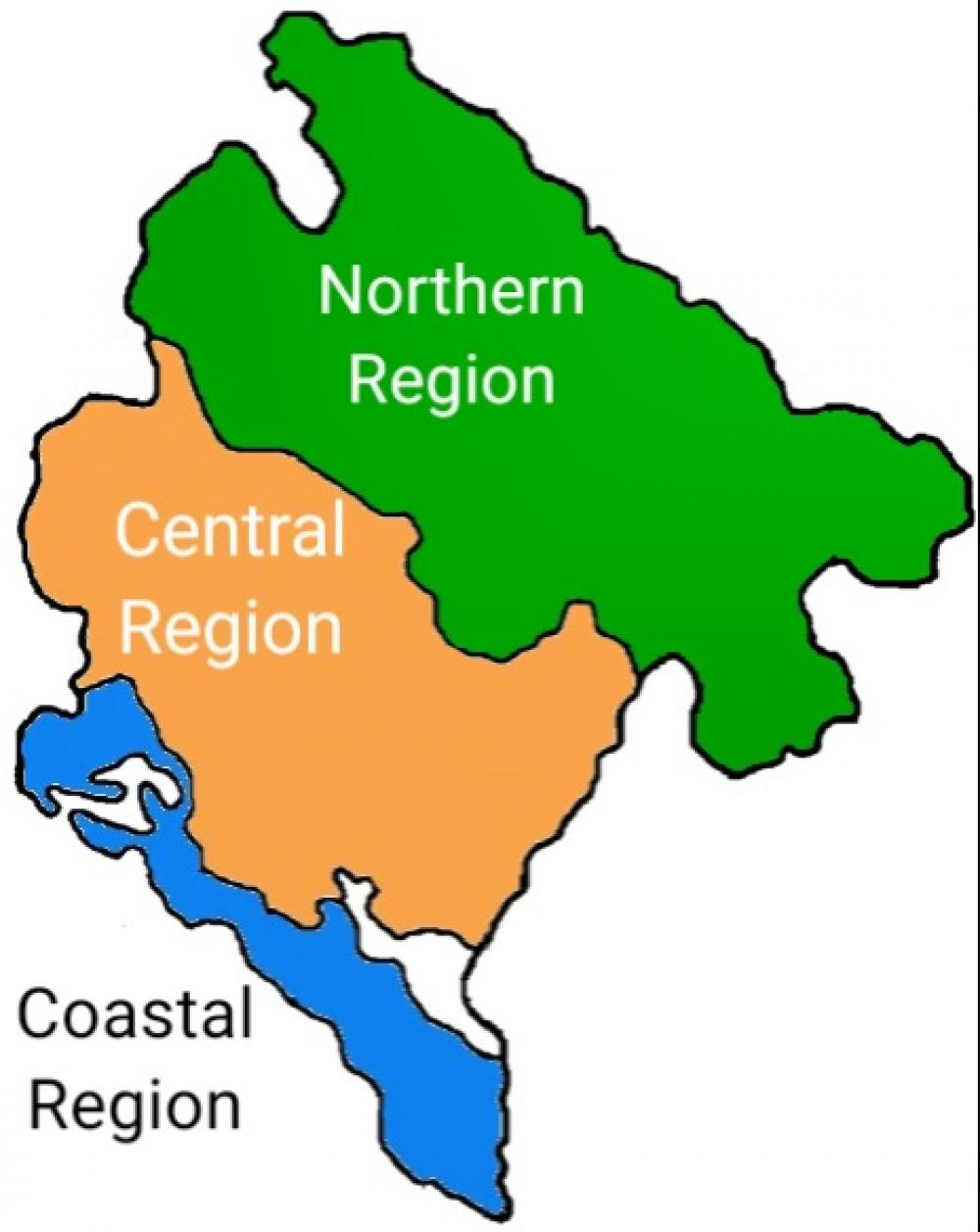 regioni crne gore