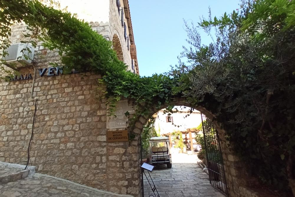 Old town Ulcinj, Muguele de Cervantes