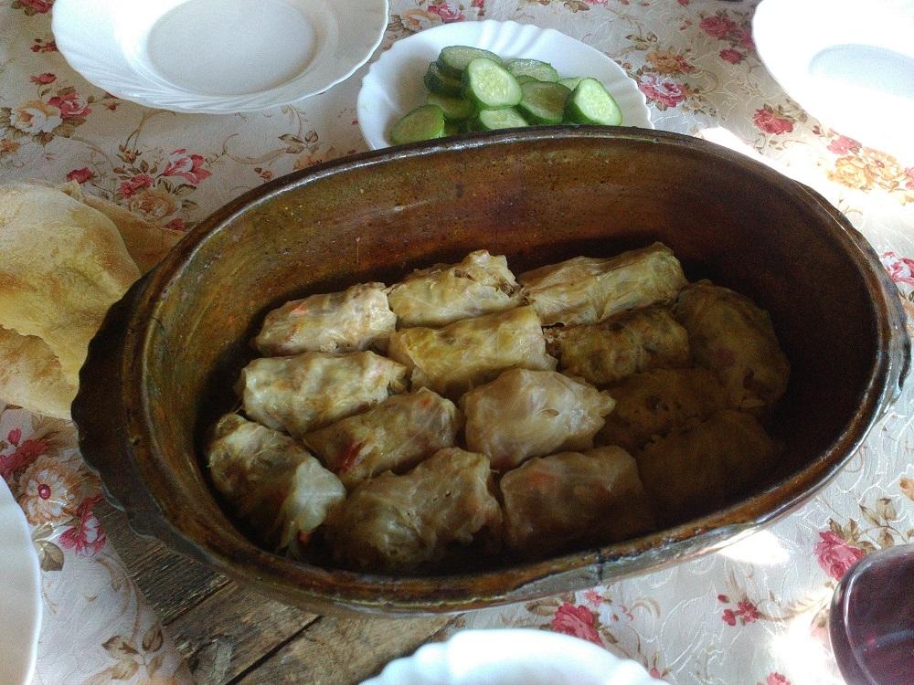 Traditional Montenegrin food, sarma