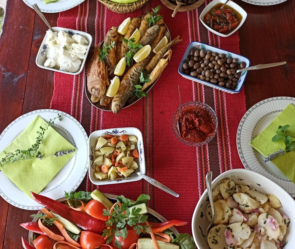 Traditional Montenegrin food