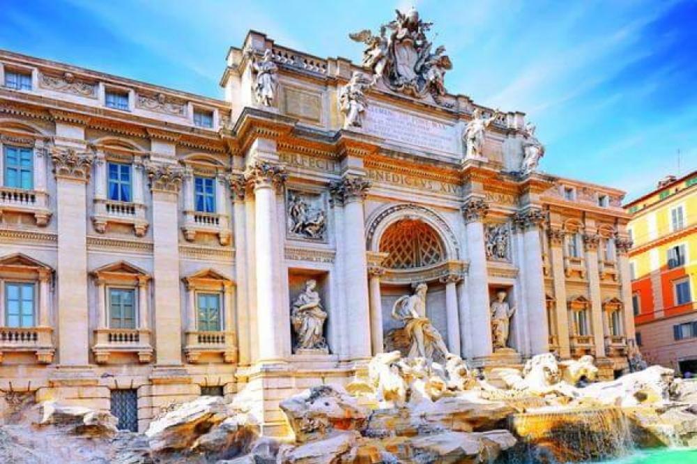 Rim, putovanje 1. maj