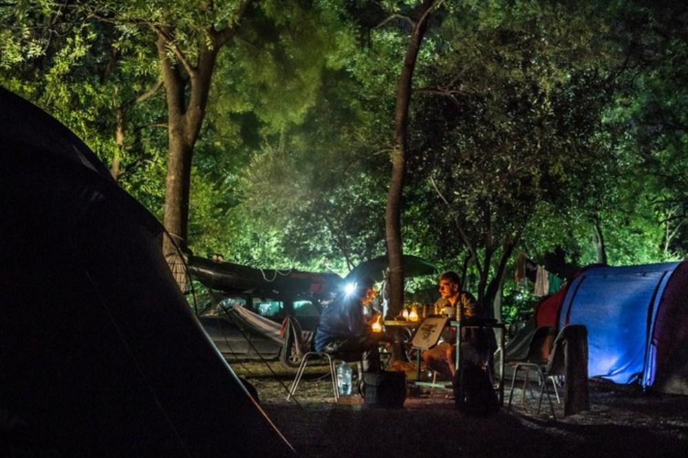 maslina campsite, montenegro camping