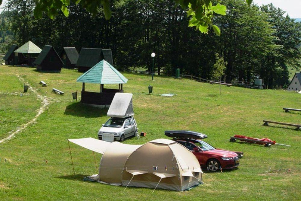 campsite bocha, zabljak, montenegro camping, durmitor